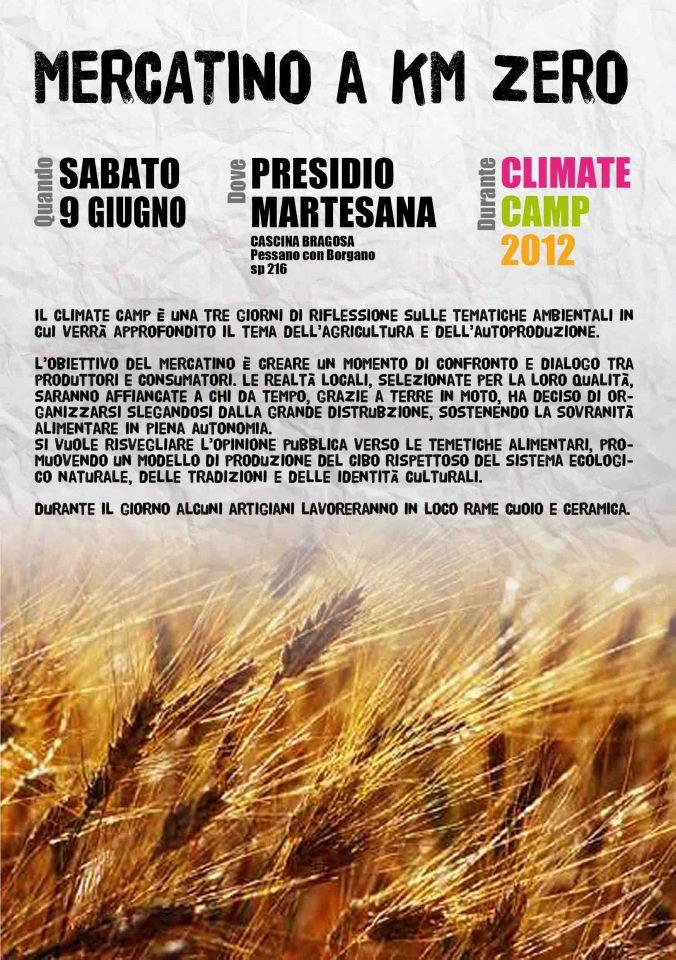 ClimateCamp al presidio NoTem