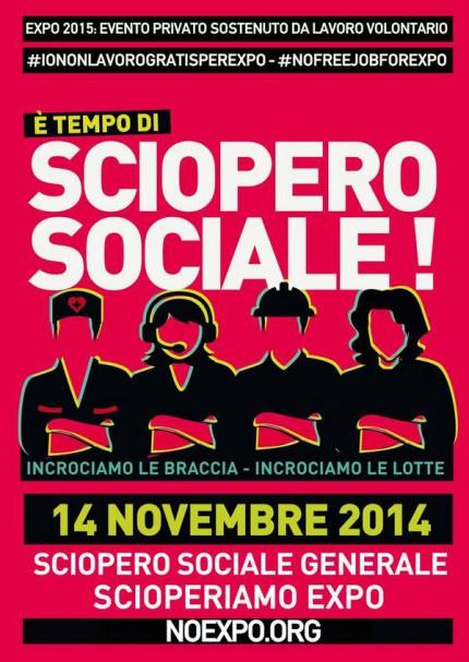 E' ora di #ScioperoSociale