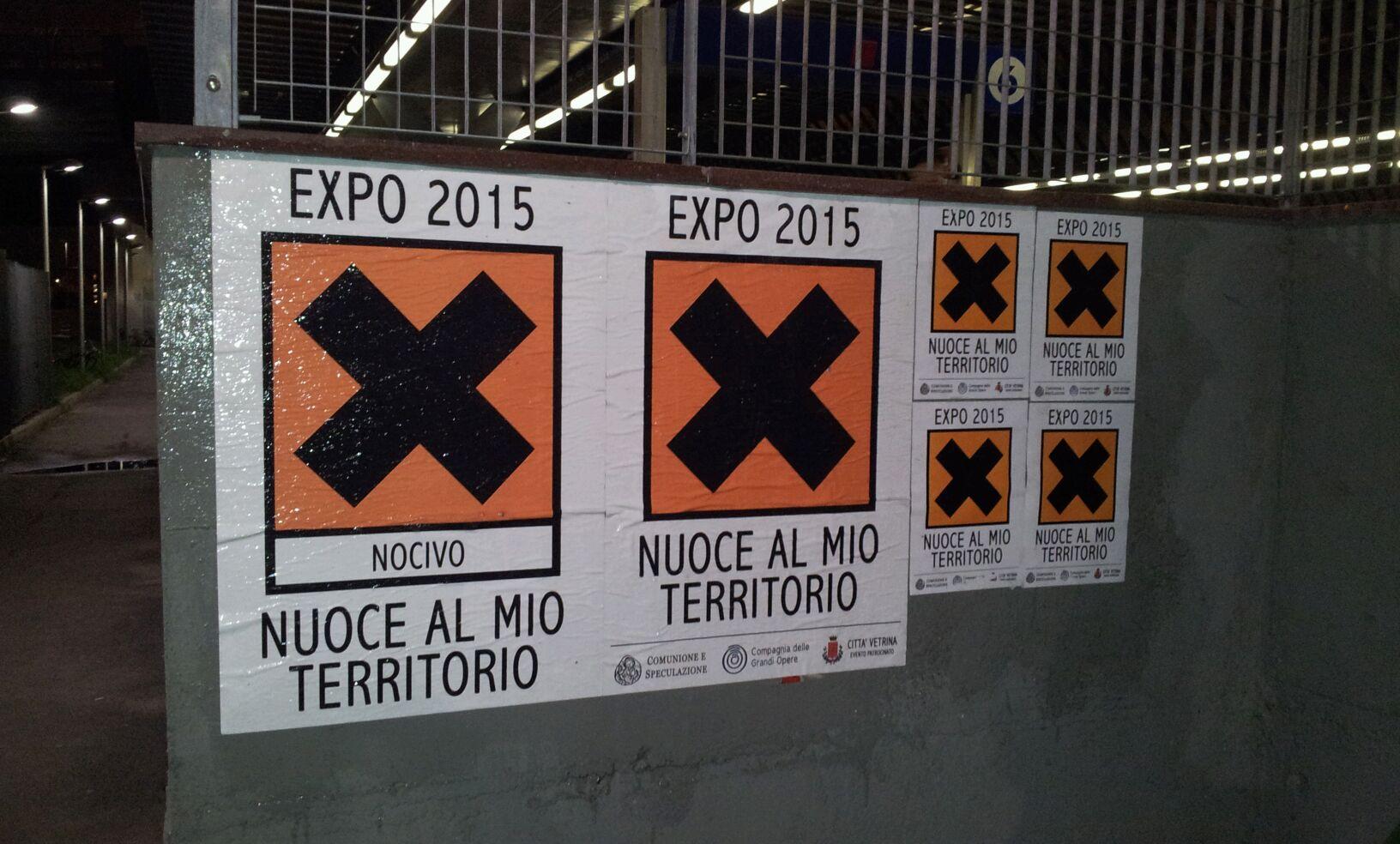 Ingresso al cantiere Expo2015 e 1a assemblea nazionale