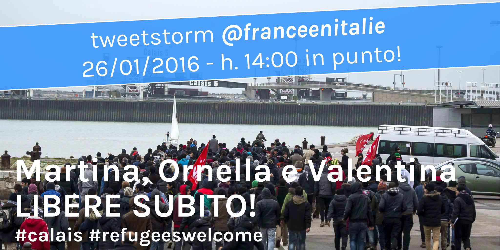 #CalaisFreedom4All